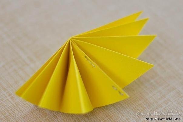Гирлянда из бумаги