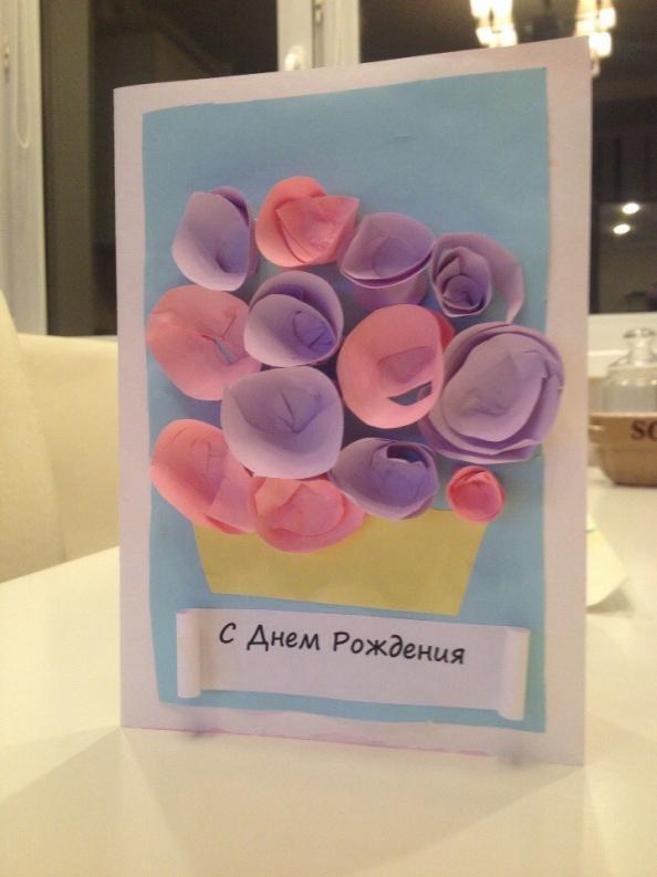 Самые легкие открытки на день рождения бабушке