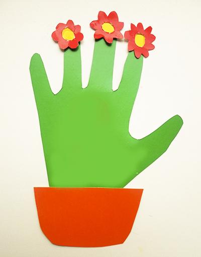 Открытка своими руками ладошка с цветами, забавные картинки
