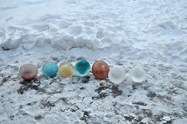 Творческие игры на морозе 3