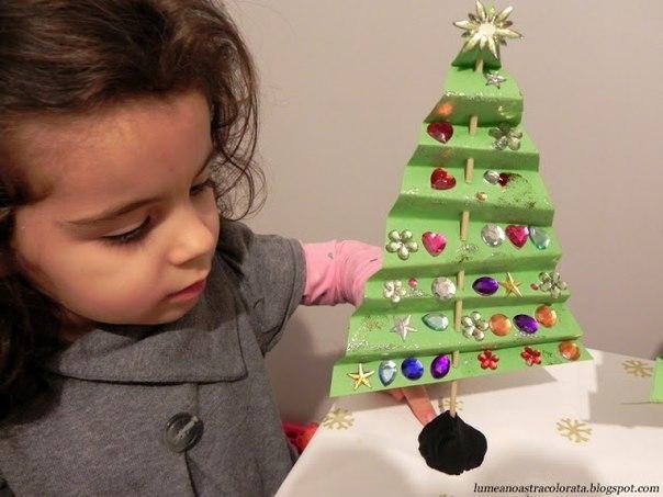 Наряжаем новогоднюю елочку 4