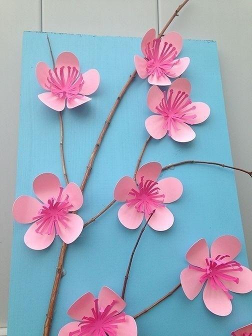 Весенние поделки с цветами