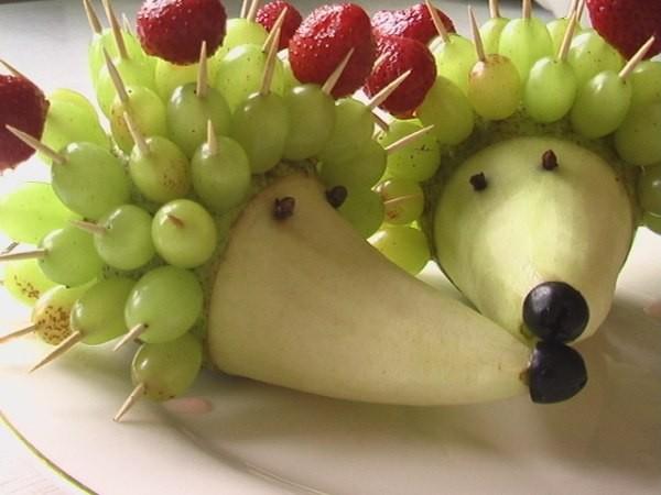 Очаровательные поделки из овощей, фруктов и ягод