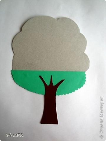 Деревья с объемной кроной