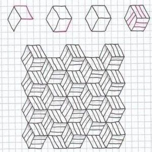 Идеи рисунков по клеточкам 4