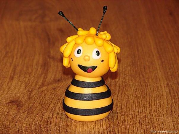 Лепим пчёлку 4