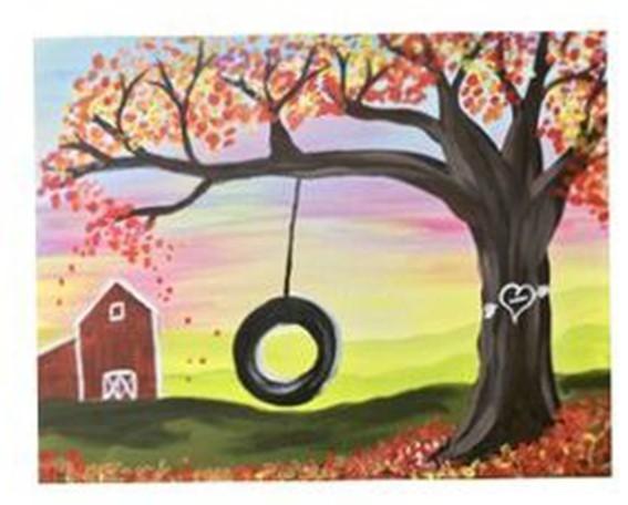 Рисуем с детьми пейзаж