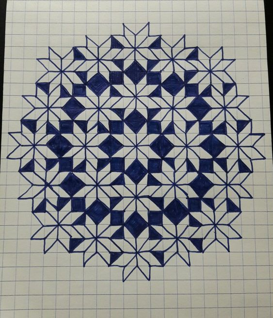 Идеи рисунков по клеточкам 2