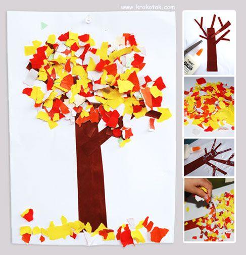 Осенние деревья: много вариантов создания