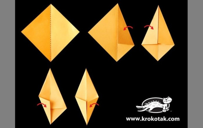 Осенние оригами