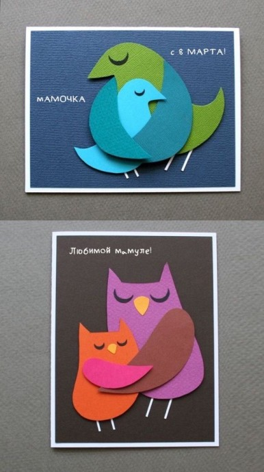 Открытки с птичками