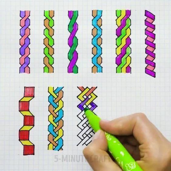 Идеи рисунков по клеточкам 6