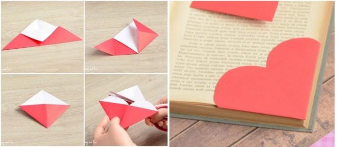 Изготовление простых закладок для книг с детьми