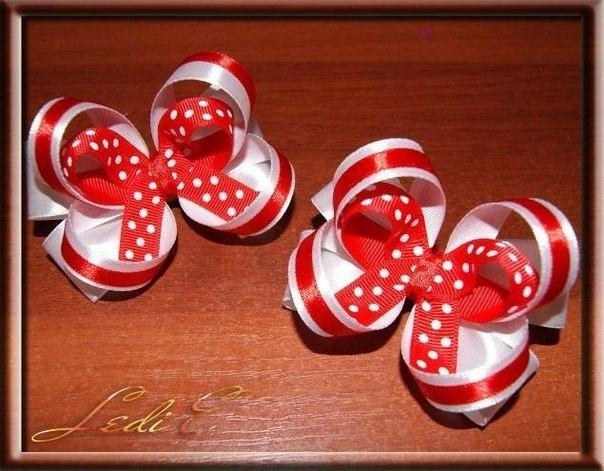 Как сделать красивые бантики для украшения подарков другу
