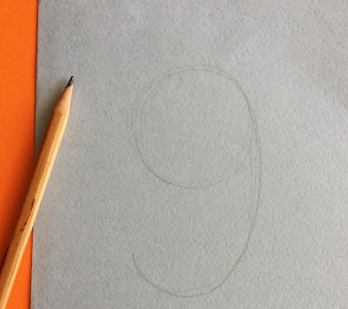 Открытка к 9 мая с рисунком из пластилина