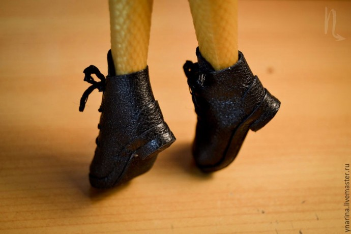 Шьем обувь для кукол