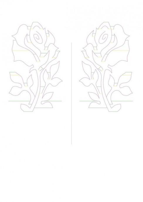 Объемные открытки из одного листа бумаги