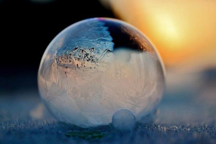 Замерзшие мыльные пузыри 5