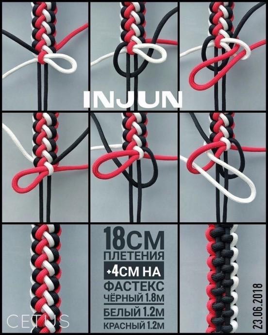 Плетение красивых браслетов в технике макраме
