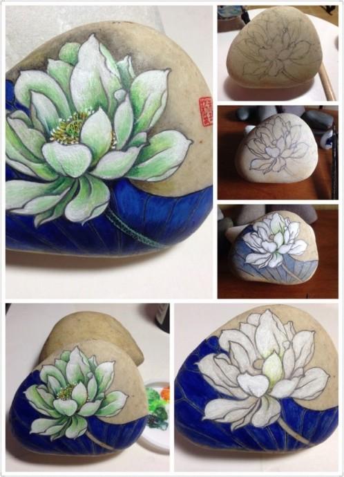 Как делать с детьми рисунки на камнях