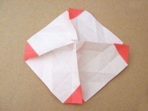 Венки из цветов в технике оригами