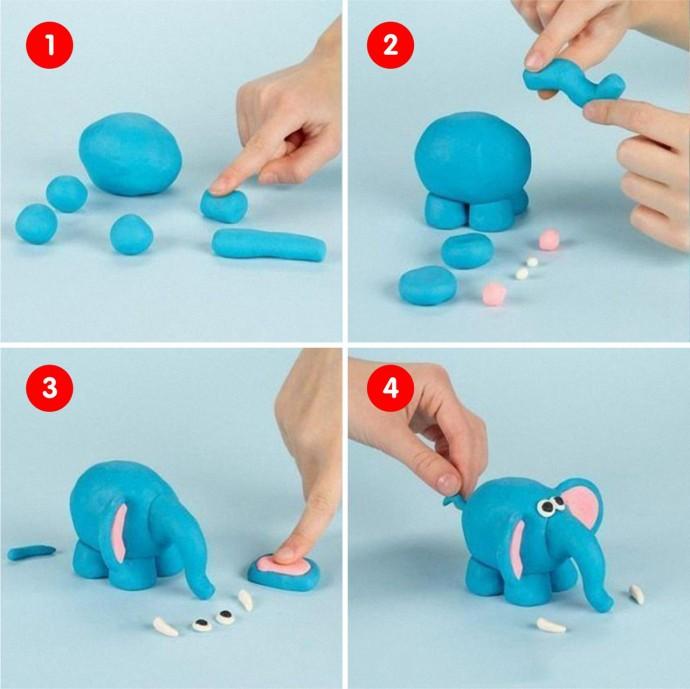 Уроки лепки из пластилина с детьми