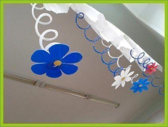 Цветочки-подвески