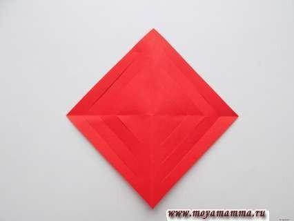 Ажурный осенний лист из бумаги