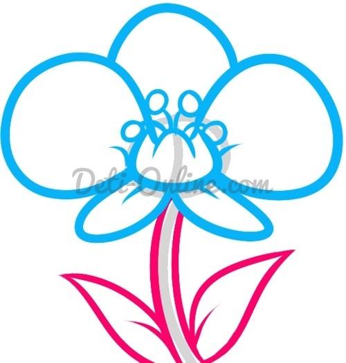 Как нарисовать орхидею: мастер-класс