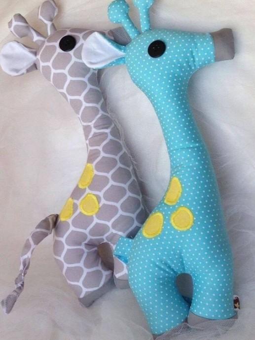 Простые и очаровательные текстильные игрушки 3