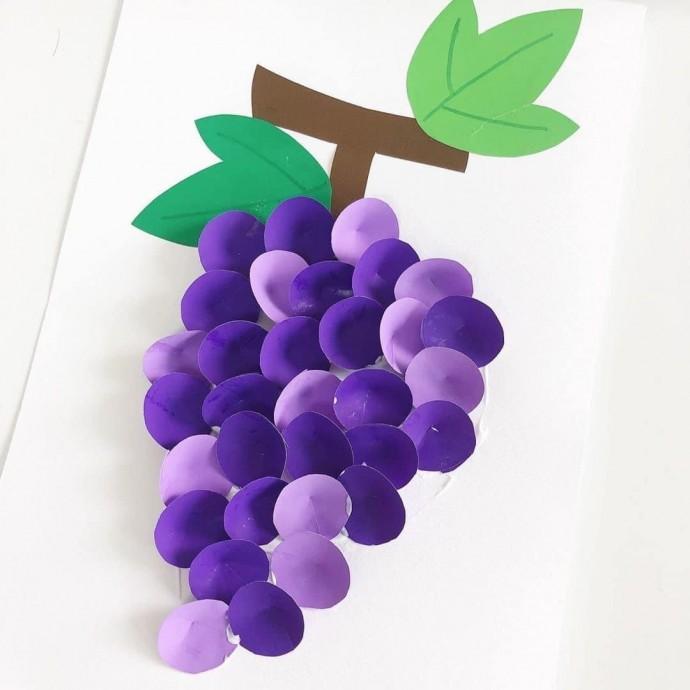 Объемный виноград