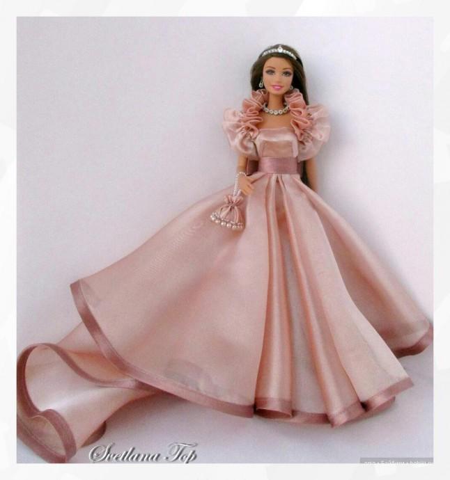 Выĸройĸа платья для куколки