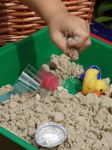 Чудесный песок для лепки