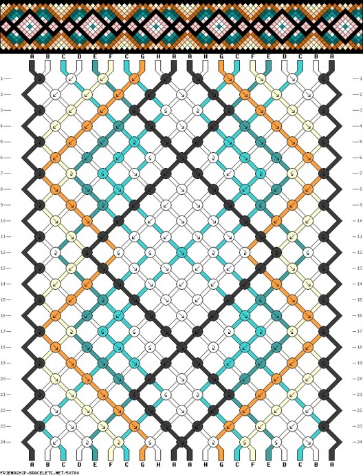 Плетем фенечки: подборка схем