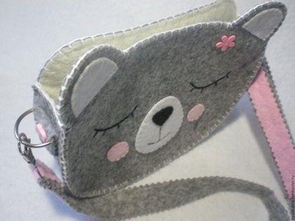 Простые сумочки из фетра
