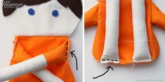 Как сшить куклу 6