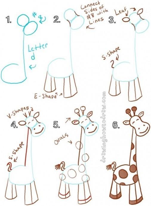 Уроки рисования для малышей
