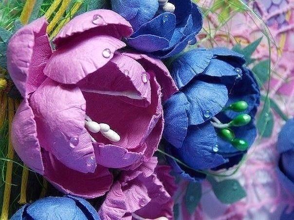 Изумительной красоты цветы на подарок бабушке