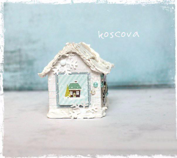Зимний домик: мастер-класс