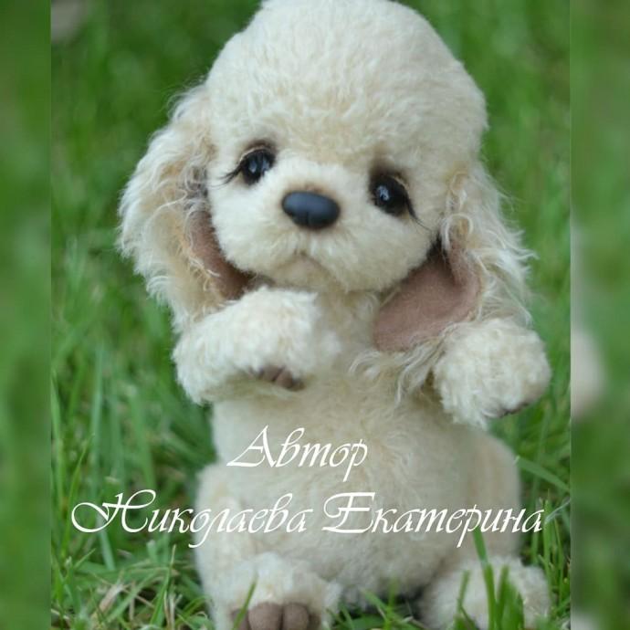 Мягкая игрушка щенок спаниеля