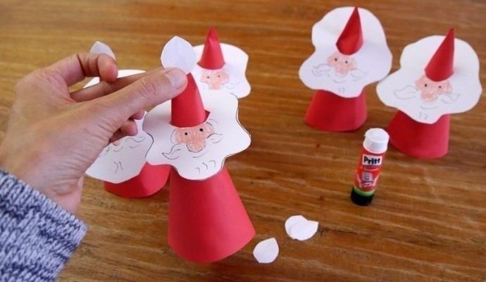 Дед Мороз из конуса