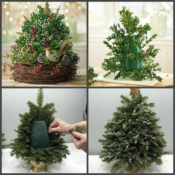 Рождественский декор детскими руками 1