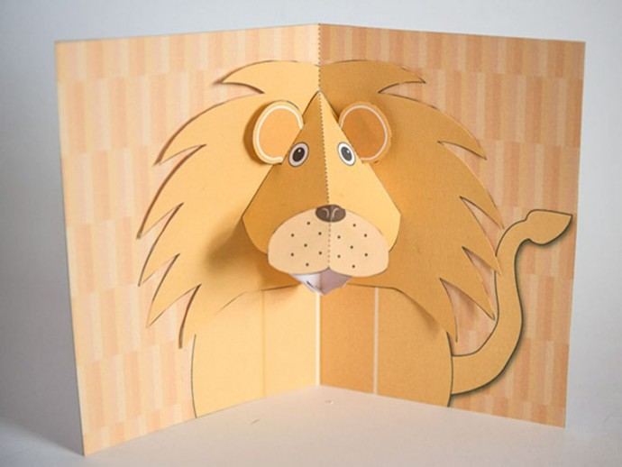 объемные открытки зверюшек жилье лермонтово стоит