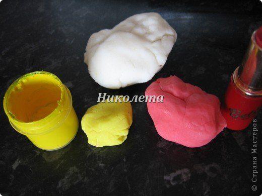 Самый простой рецепт холодного фарфора для детского творчества