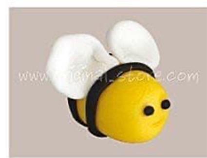 Лепим маленькую пчёлку