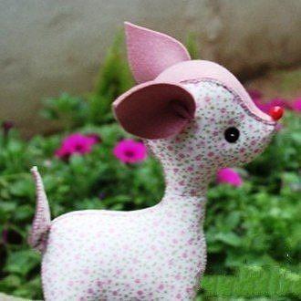 Мягкая игрушка - олененок 1