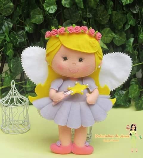 Очаровательные куколки из фетра 5