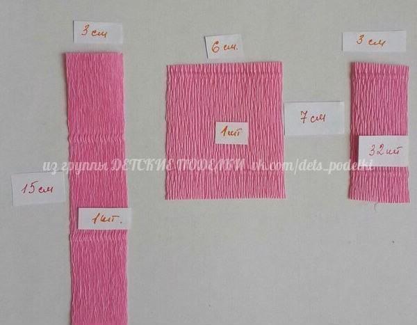 Прекрасные бумажные розочки