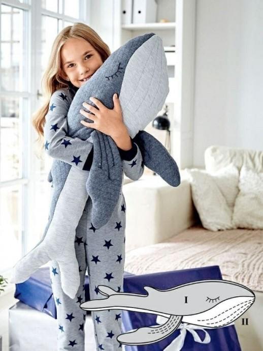 Шьем с детьми игрушки: кит