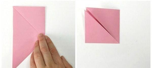 Веселые вороны в технике оригами 3